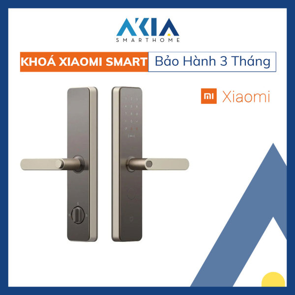 [Trả góp 0%] Khóa Cửa Thông Minh Xiaomi Smart Door Lock (Bản có NFC) - Hàng Chính Hãng