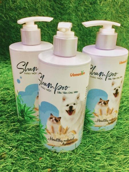 Sữa Tắm Thảo Mộc Cho Chó Mèo giúp thú cưng của bạn có bộ lông bóng mượt, chống xơ rối - Xudapet - SP000626