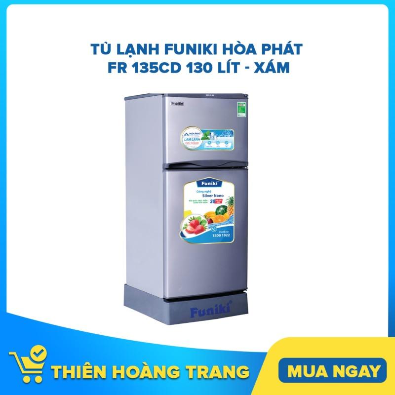 Tủ lạnh Funiki Hòa Phát FR 135CD 130 lít - xám