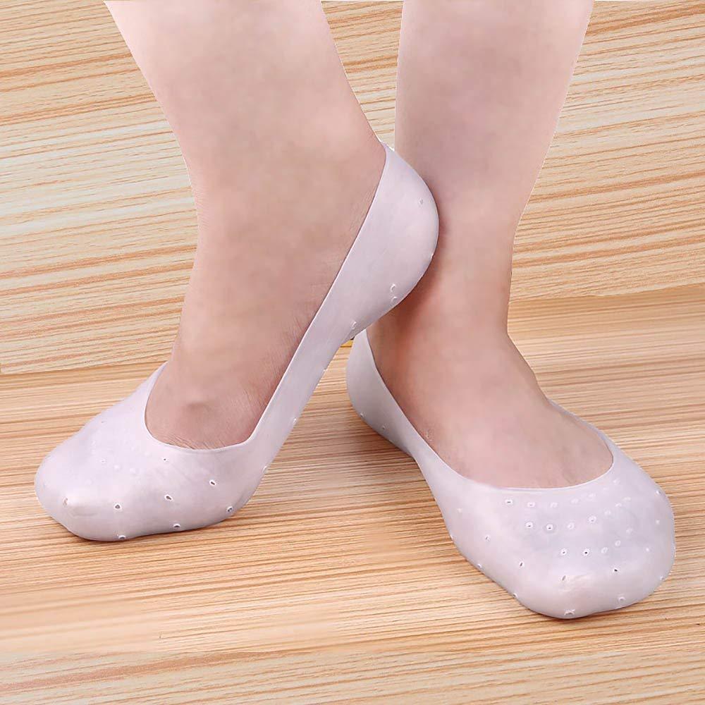 Lót giày vớ silicon cho bàn chân ENVYSLEEP mang giày bít, giày búp bê, giày thể thao (bít ngón) , Bộ 2 cái