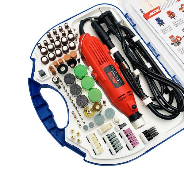 Bộ máy khoan mài cắt đa năng mini ACZ-6058 kèm phụ kiện 105 chi tiết