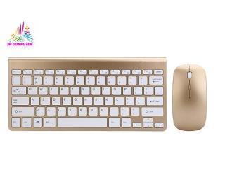 Combo Bàn Phím và Chuột không dây - Bộ bàn phím chuột - Bàn phím Mini không dây - Bàn phím máy tính laptop - Bàn phím chuột HK908 thumbnail