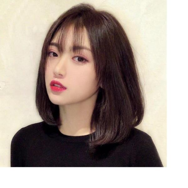 Tóc giả nữ Hàn Quốc + Tặng kèm lưới T478 cao cấp