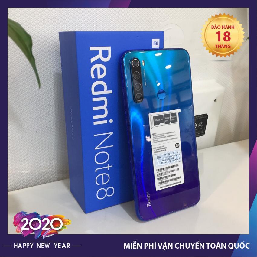 [Bảo hành 18 tháng] Điện thoại Redmi note 8 cấu hình cao, chơi liên quân, chơi game cực đỉnh, chụp hình sắc nét, giá cực kỳ hấp dẫn