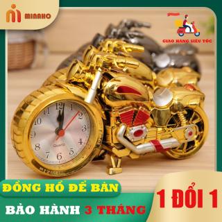 Đô ng Hô Đê Ba n Thơ i Trang Minaho - Đô ng Hô Decor Trang Tri Ba n La m Viê c - Bền đẹp, thời trang, sang trọng thumbnail