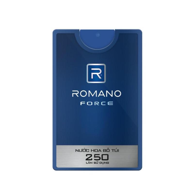 Nước hoa bỏ túi cao cấp Romano Force 18ml - HÀNG TẶNG KHÔNG BÁN tốt nhất