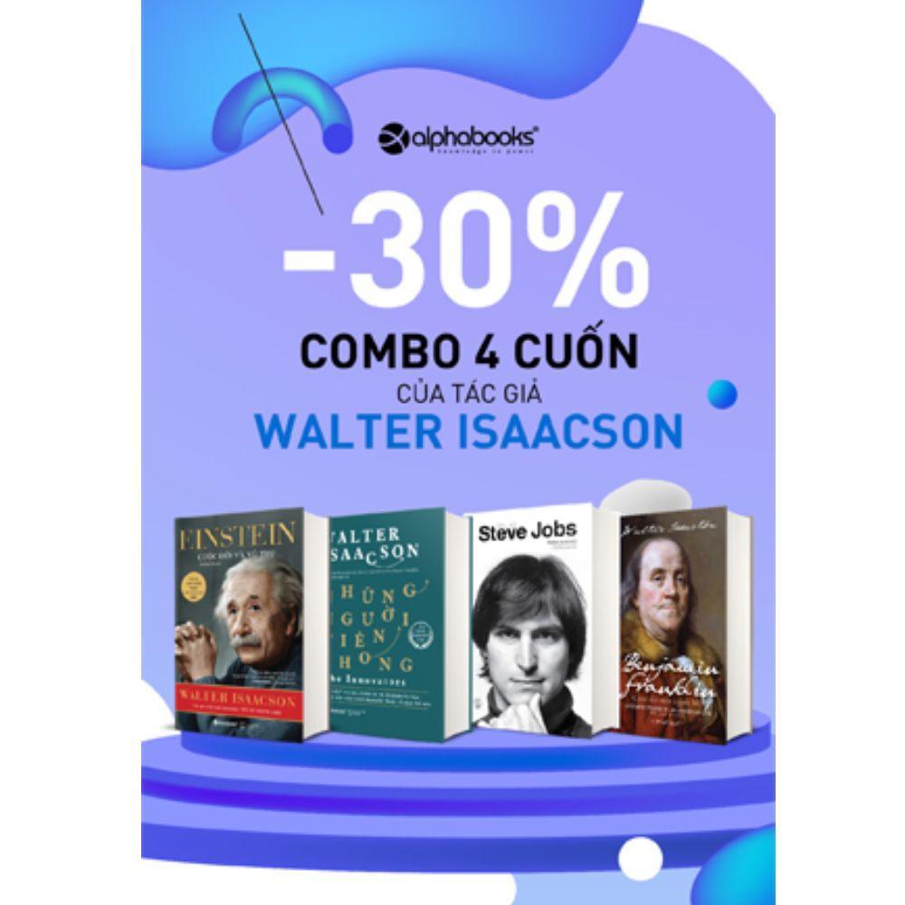 Combo Sách Những Kẻ Tiên Phong Tác Giả Walter Isaacson Với Giá Sốc