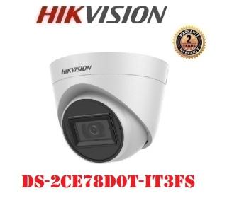 Camera Dome 4 in 1 hồng ngoại 2.0 Megapixel HIKVISION DS-2CE78D0T-IT3FS thumbnail