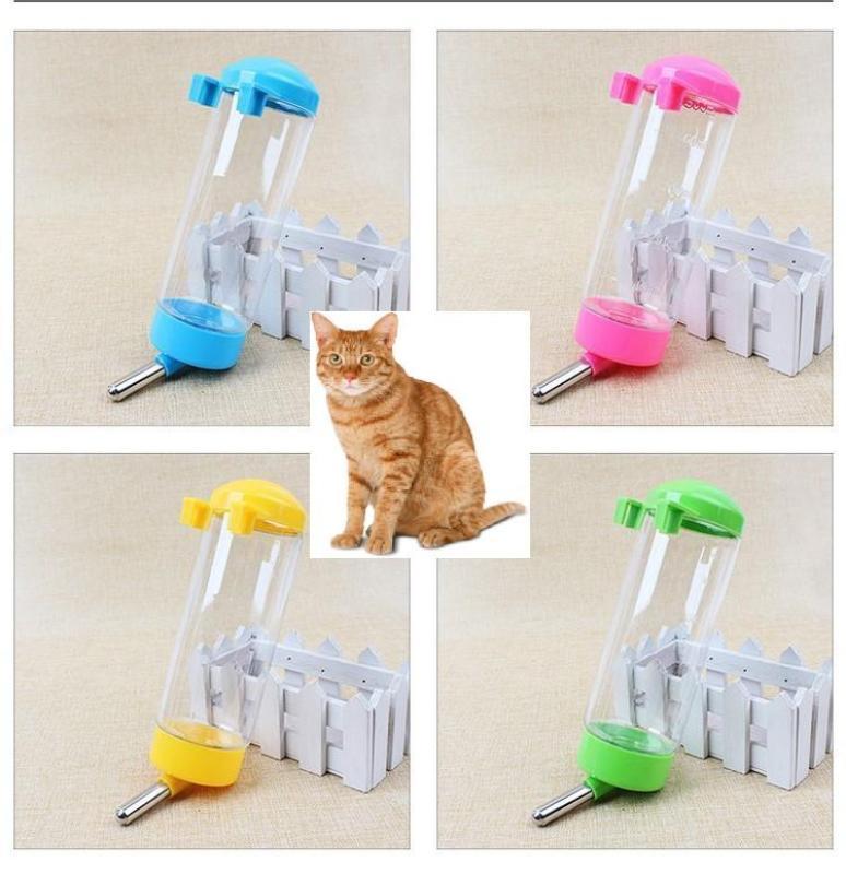 HCM- BÌNH TREO CHUỒNG 250ml ( 4711681) bình uống nước tự động chó mèo dạng bình bi
