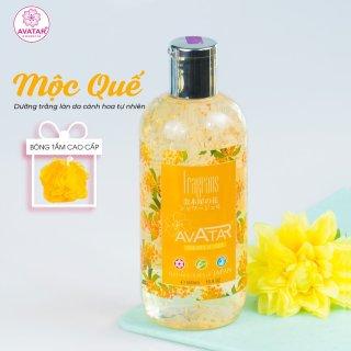 Sữa tắm Nhật cánh hoa mộc quế cao cấp 500ml cánh hoa mộc mang mùi hương quyến rũ- Tăng thêm sự gợi cảm, duyên dáng thumbnail