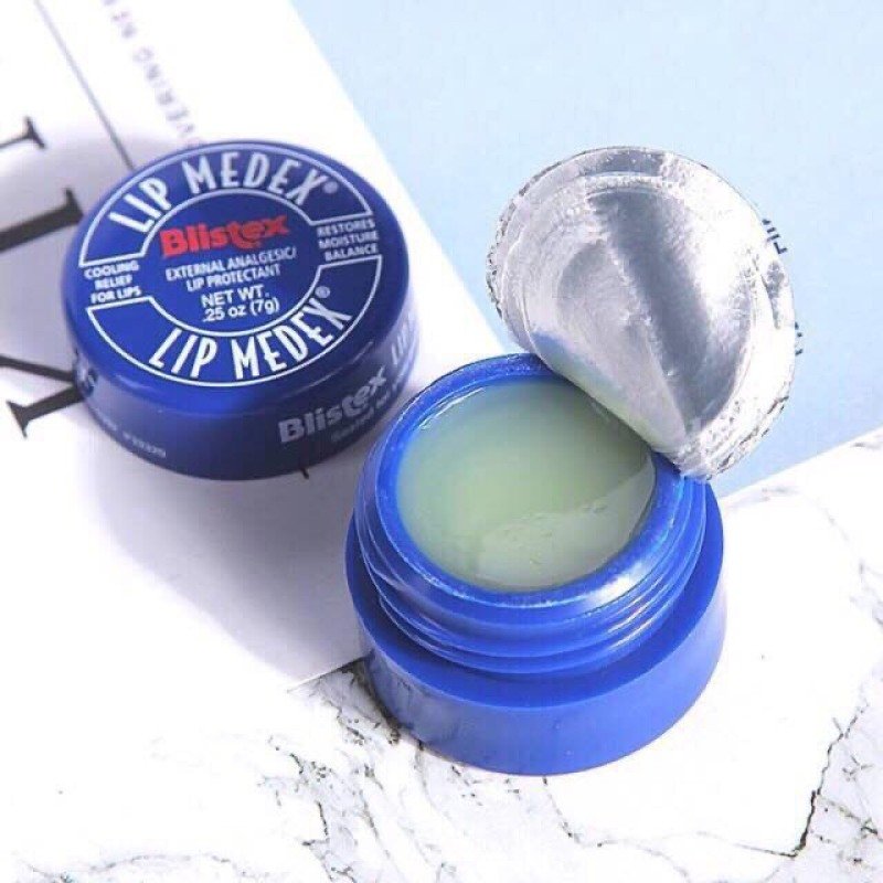 Son dưỡng môi không màu Blistex Lip Medex cân bằng độ ẩm, bảo vệ đôi môi của bạn