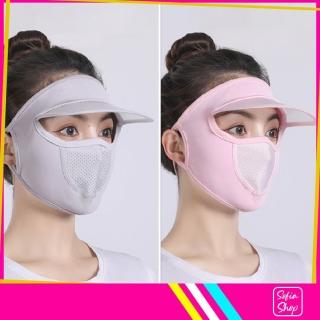 Khẩu Trang Ninja Nin Ja Nam Nữ Che Kín Mặt Có Mũ Chống Nắng Bụi Tia UV MUKK27 - Khau Trang Ninja Nin Ja Nam Nu Che Kin Mat Co Mu Chong Bui Nang Tia UV - ShopSofia thumbnail