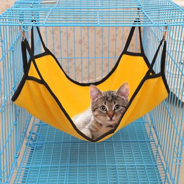 Võng nỉ treo chuồng cho mèo