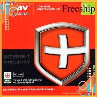 [Freeship Max] Phần mềm diệt virut Bkav Pro Internet Security 1000000319 phâ n mê m tiên phong trong sử dụng công nghệ điện toán đám mây trong lĩnh vực bảo mật thumbnail