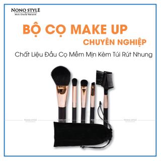 Combo bộ 5 cọ trang điểm chuyên nghiệp ShangYang, bộ cọ trang điểm đa năng nội địa Trung Quốc, cọ tán nền phấn phủ, vẽ mắt, kẻ môi, chất liệu cao cấp, không bị xơ, không chứa BPA an toàn cho người sử dụng, LỖI 1 ĐỔI 1