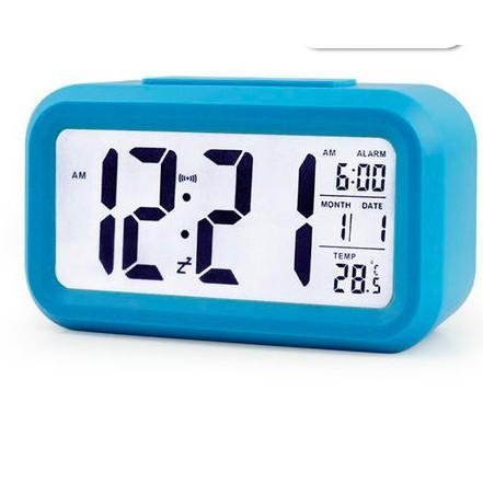 Nơi bán (Tặng Pin) Đồng Hồ Để Bàn led - Đồng hồ báo thức kiêm nhiệt kế. Đồng Hồ Điện Tử - VNYDH011