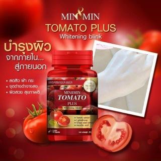 Viên uống trắng da cà chua Tomato Plus Thái Lan thumbnail