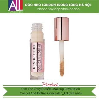 Kem che khuyết điểm Makeup Revolution Concel And Define Concealer - C3 (Bill Anh) thumbnail