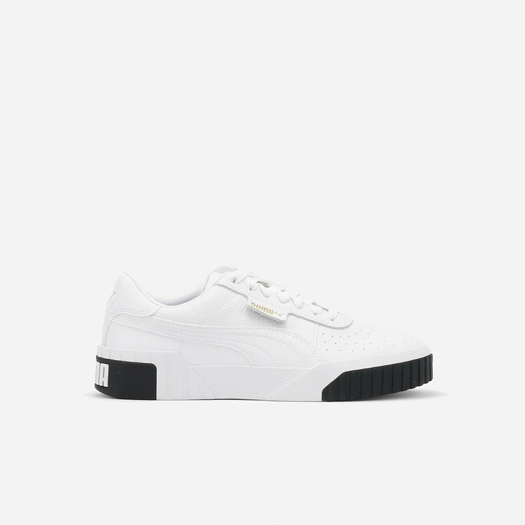 Mã Khuyến Mại Khi Mua Giày Sneaker Nữ Puma Cali Màu Trắng đen
