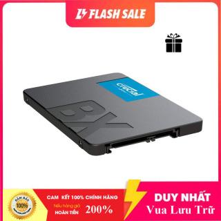 [RẺ HỦY DIỆT] SSD Crucial BX500 3D NAND 2.5-Inch SATA III 2TB CT2000BX500SSD1 - Hàng Chính Hãng [Bảo Hành 1 Đổi 1] thumbnail