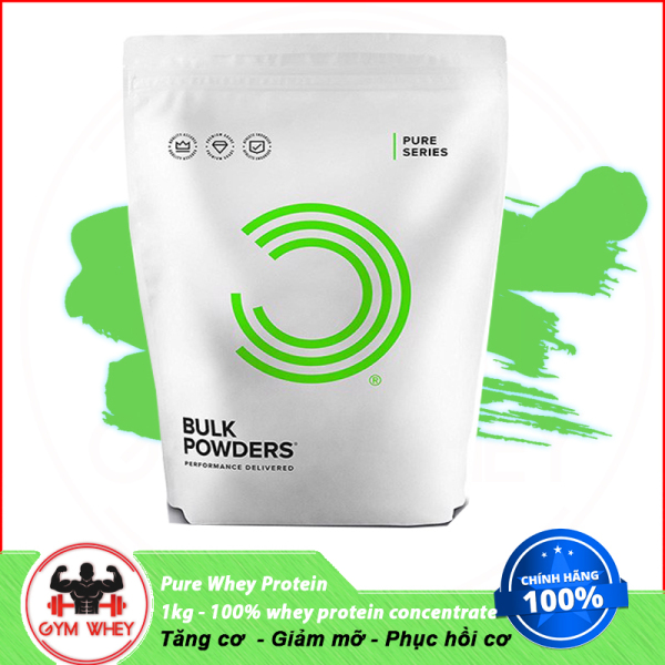 Sữa Tăng Cơ Bulk Powders Pure Whey Protein - 1kg