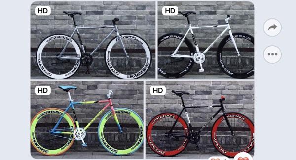 Mua Xe đạp đường phố Fixed bike