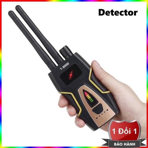 RF Detector T8000 - Thiết bị phát hiện máy ghi âm, camera wifi T-8000 - Máy phát hiện camera , máy ghi âm T8000