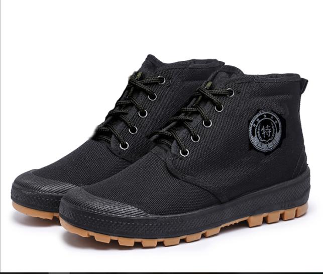 Giày boot nam fulll đen cực ngầu giá rẻ