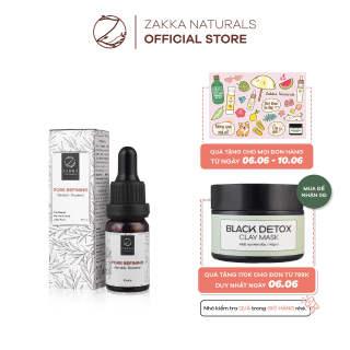 Serum (Tinh Chất) Mandelic Zakka Naturals Giảm Mụn, Mờ Thâm, Căng Bóng Da Pore Refining Mandelic Treatment 10ml thumbnail