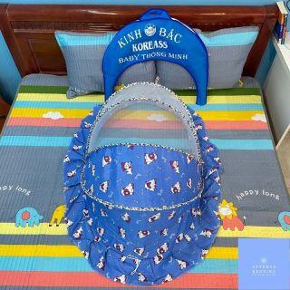 Mùng chụp trẻ sơ sinh 5 tuổi trở xuống mùng chụp an toàn cho trẻ nhỏ lưới dày lỗ nhỏ chống muỗi và các loại côn trùng (Dài 1M cao 50cm rộng 65cm) thumbnail
