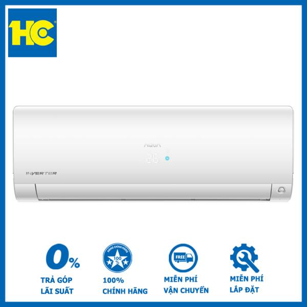 Bảng giá Điều hòa Aqua 1 chiều Inverter 12300 BTU AQA-KCRV13FB - Miễn phí vận chuyển & lắp đặt - Bảo hành chính hãng