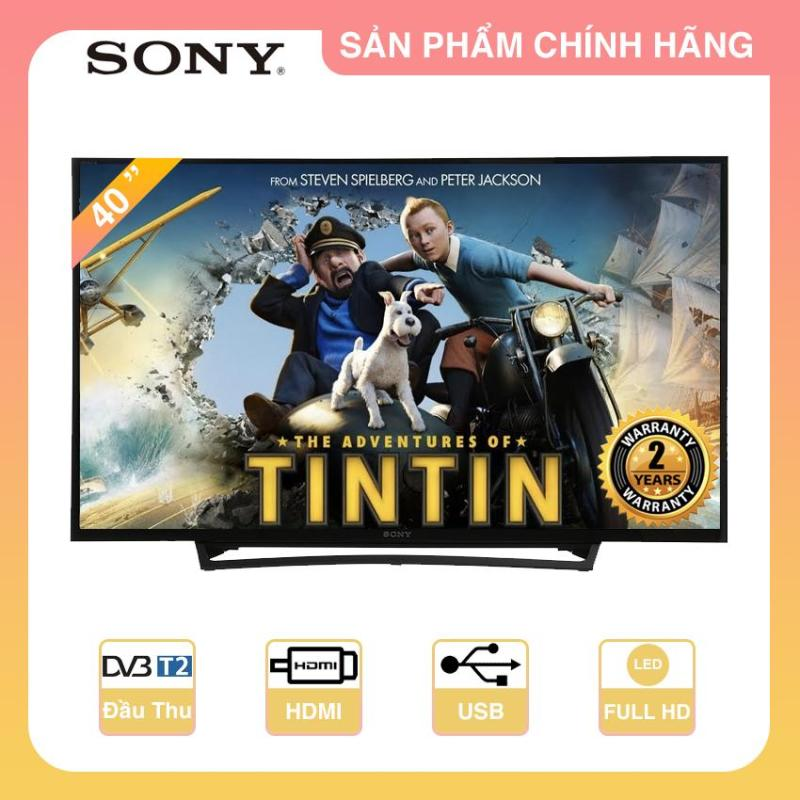 Bảng giá Tivi Led Sony 40inch Full HD - Model 40R350E (Đen)