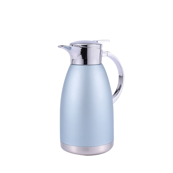 Thermal Hot Water Jug Pitcher Stainless Steel Vacuum Bottle Double Layer Insulation Cafe Tea Kettle Pot