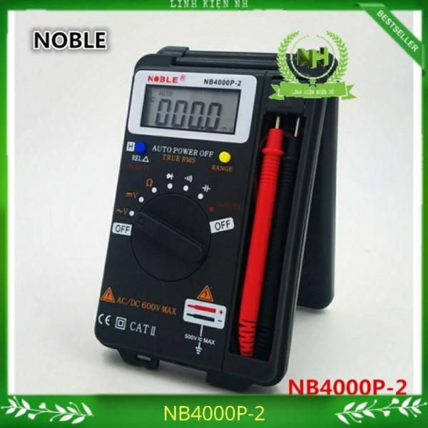 Đồng hồ vạn năng điện tử NOBEL NB4000P-2 Đo Tụ và Tần số