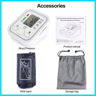 (Thiết bị y tế) Máy đo huyết áp cổ tao tự động, Máy đo huyết áp Arm Style đo huyết áp và nhịp tim đơn giản và nhanh chóng, máy đo huyết áp sử dụng tại nhà cho gia đình bạn thumbnail