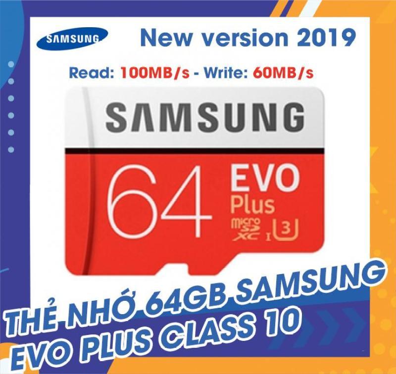 Thẻ nhớ MicroSDXC Samsung EVO Plus 64GB 100MB/s (New 2019)