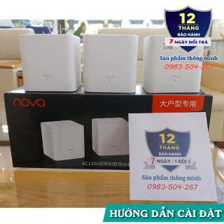 Bộ 3 Cục Wifi Mesh không dây Tenda Nova MW3 - Ghép nối nhiều thiết bị cùng 1 tên wifi thumbnail