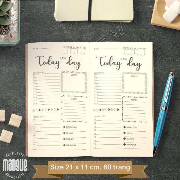Mua Sổ tay planner Vui Mỗi Ngày bìa cứng 21x11 to-do list, thời gian biểu, check list, nhắc việc, lịch hẹn