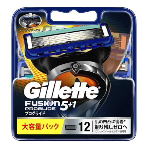 Vỉ 12 Lưỡi Dao Cạo Râu Gillette Fusion ProGlide 5+1 giá rẻ