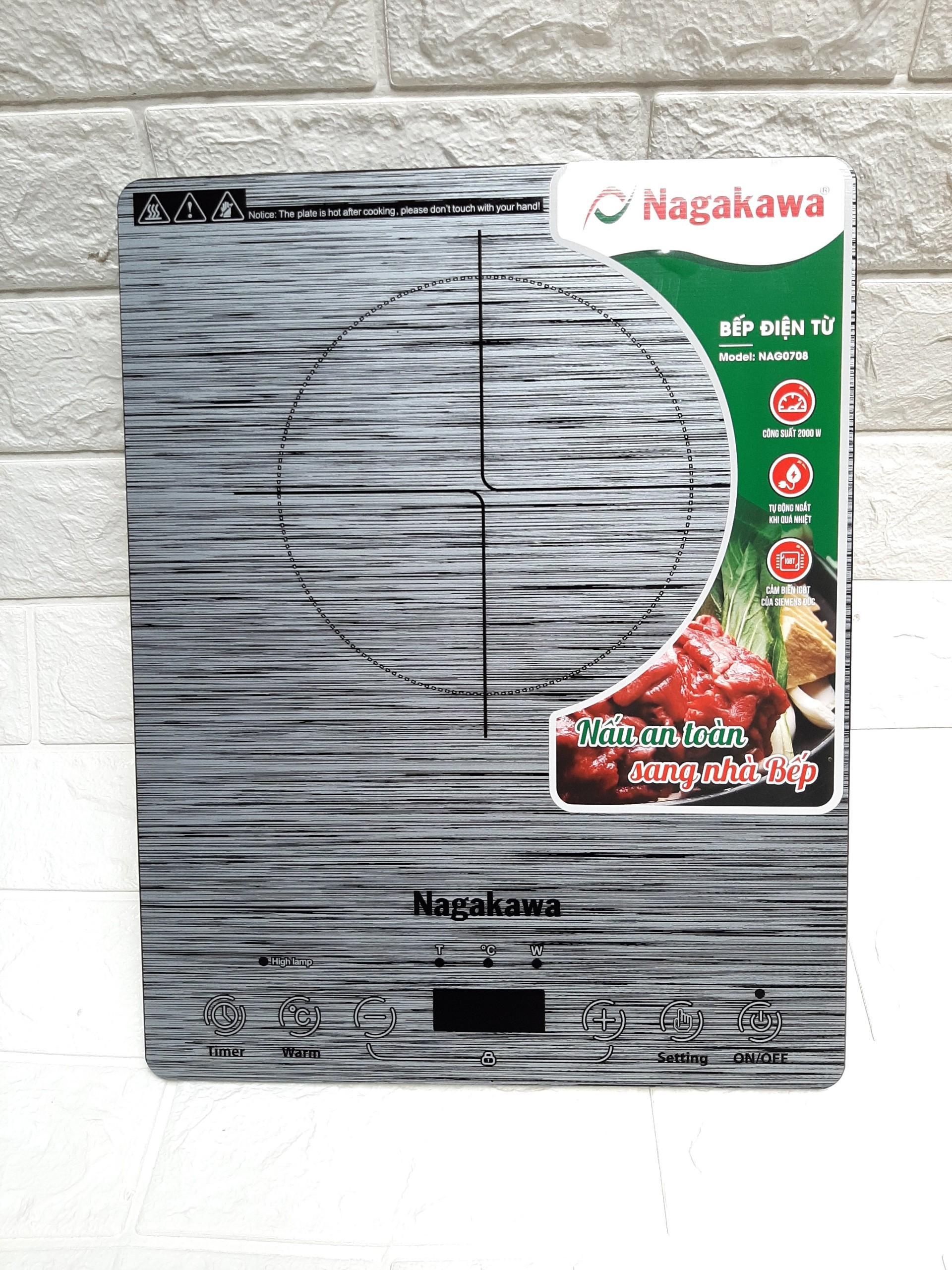 Bếp điện từ Nagakawa NAG0708