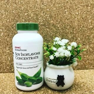 Tinh chất mầm đậu nành Soy Isoflavone Concentrate GNC nhập khẩu Mỹ ( lọ 90v dùng trong 3 tháng) thumbnail