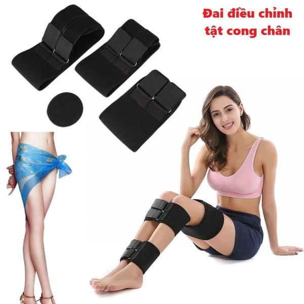 Đai quấn làm thẳng chân cao cấp - Đai quấn chống cong chân - Đai chỉnh hình chân bị cong vòng kiềng