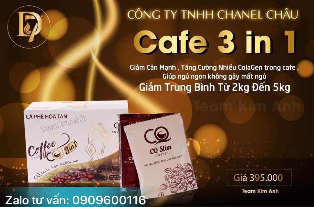 CAFE HÒA TAN GIẢM CÂN DẠNG TRÀ CQ CLIM COFFEE THAILAND