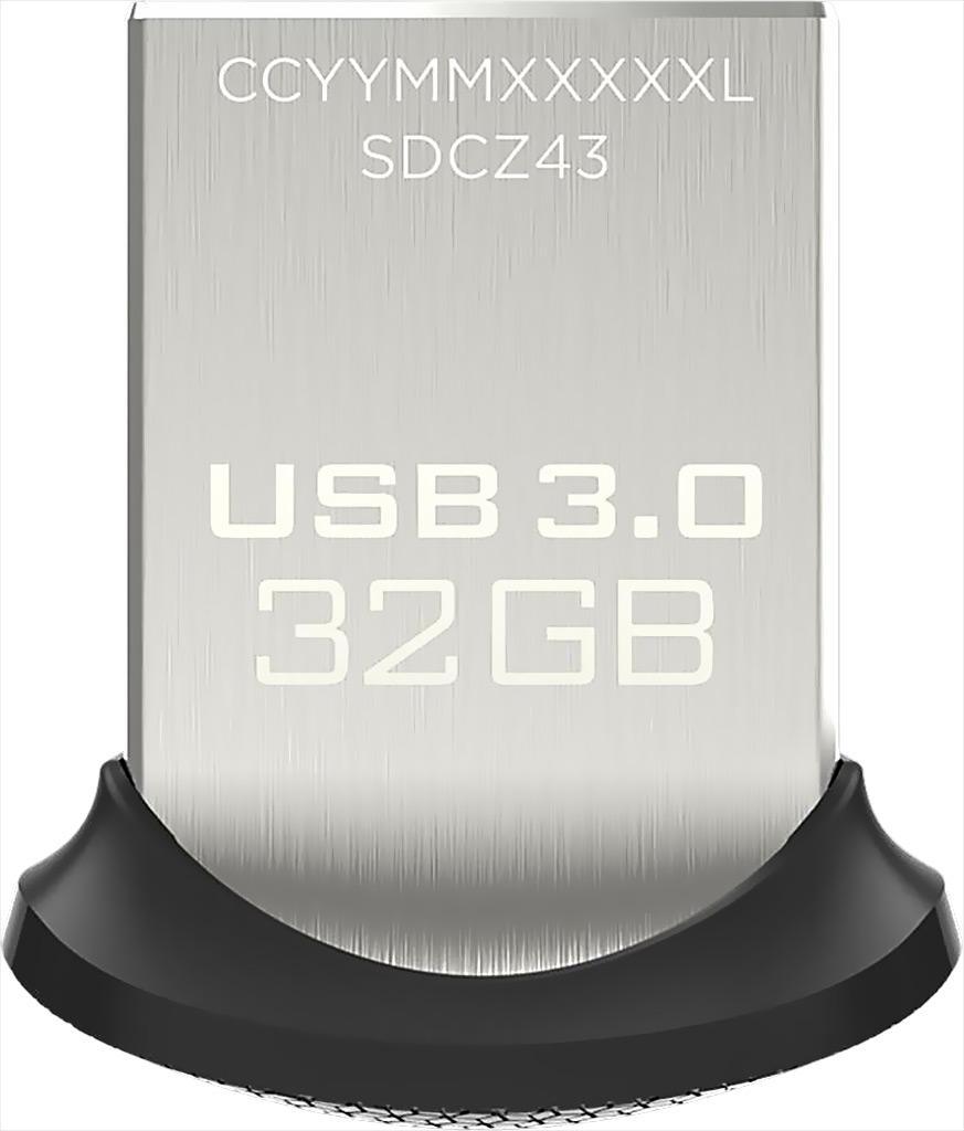 USB 32Gb 16Gb Sandisk Ultra Fit Cz43 vỏ sắt siêu tốc độ