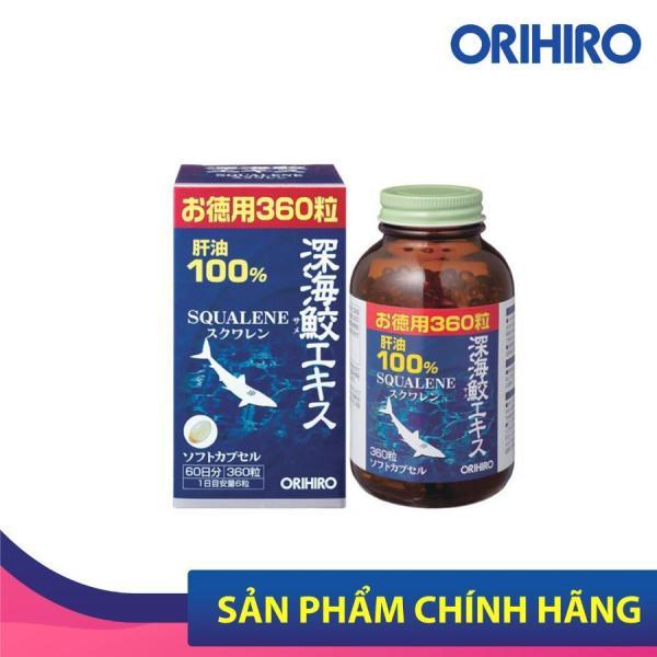 Viên uống sụn vi cá mập Orihiro Nhật Bản hỗ trợ xương khớp, bảo vệ mắt, 360 viên/lọ