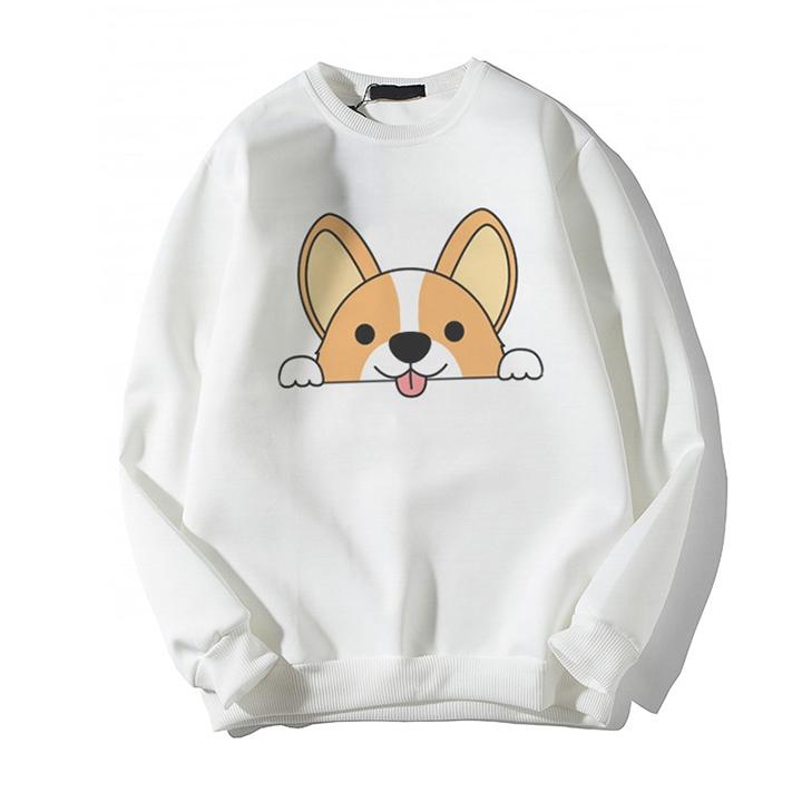 Giá Tiết Kiệm Để Sở Hữu Ngay Áo Sweater In Hình Cún Nam Nữ Đều Mặc được Phù Hợp Làm áo Cặp áo Nhóm