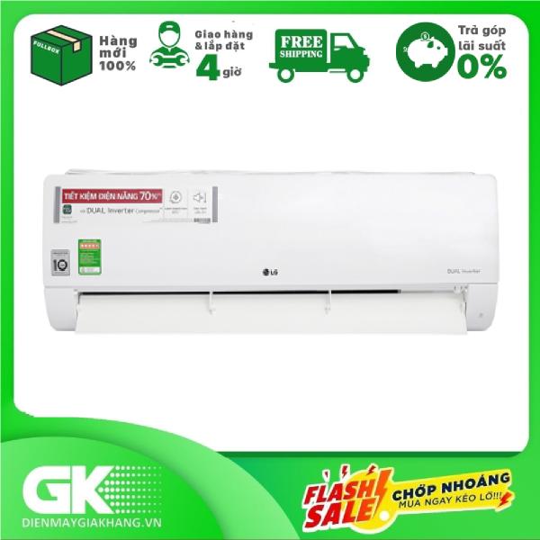 Bảng giá [Nhập ELMAY21 giảm 10% tối đa 200k đơn từ 99k]Máy lạnh LG Inverter 2.0 HP V18ENF1