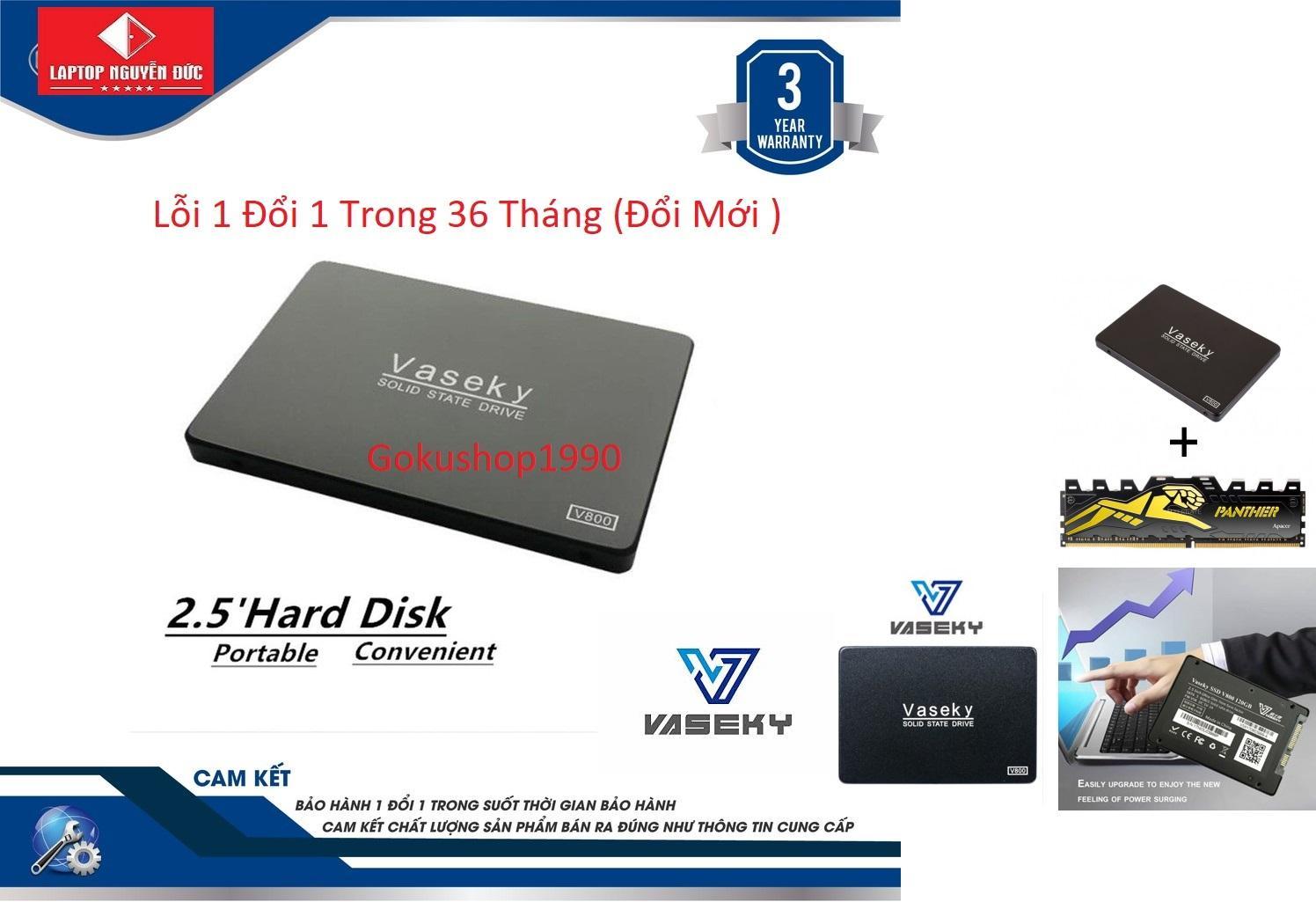 Giá Ổ Cứng Vasekey-V800 120gb SSD Sata 3 - Hàng Mới Bảo Hành 3 năm