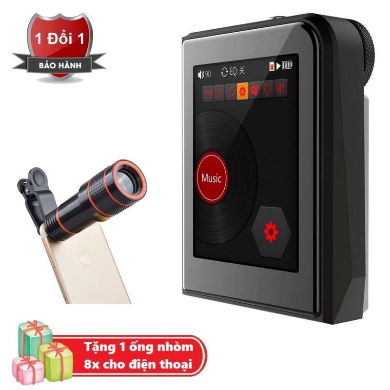 Máy nghe nhạc MP3 Lossless cao cấp Ruizu A50 - Hifi Music Player Ruizu A50 Tặng kèm Ống nhòm 8x cho điện thoại