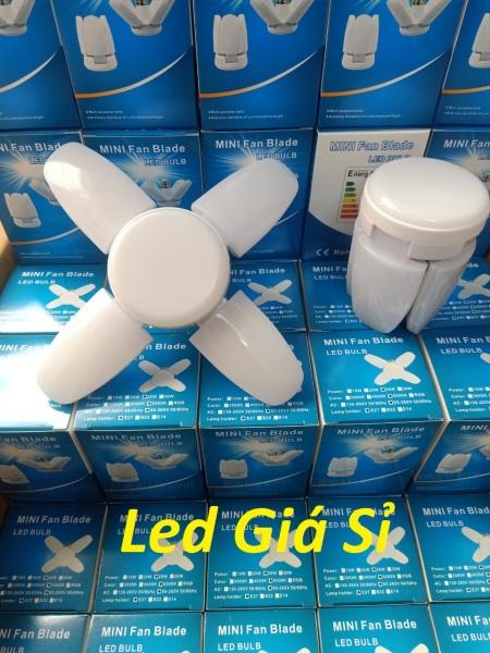 Bóng đèn led 4 cánh mini 40w siêu sáng - bảo hành 1 năm